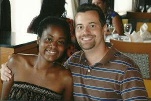 My wife, Jasmine, and I (August 2012)