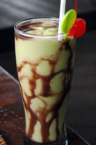 Indonesian Avocado Smoothie